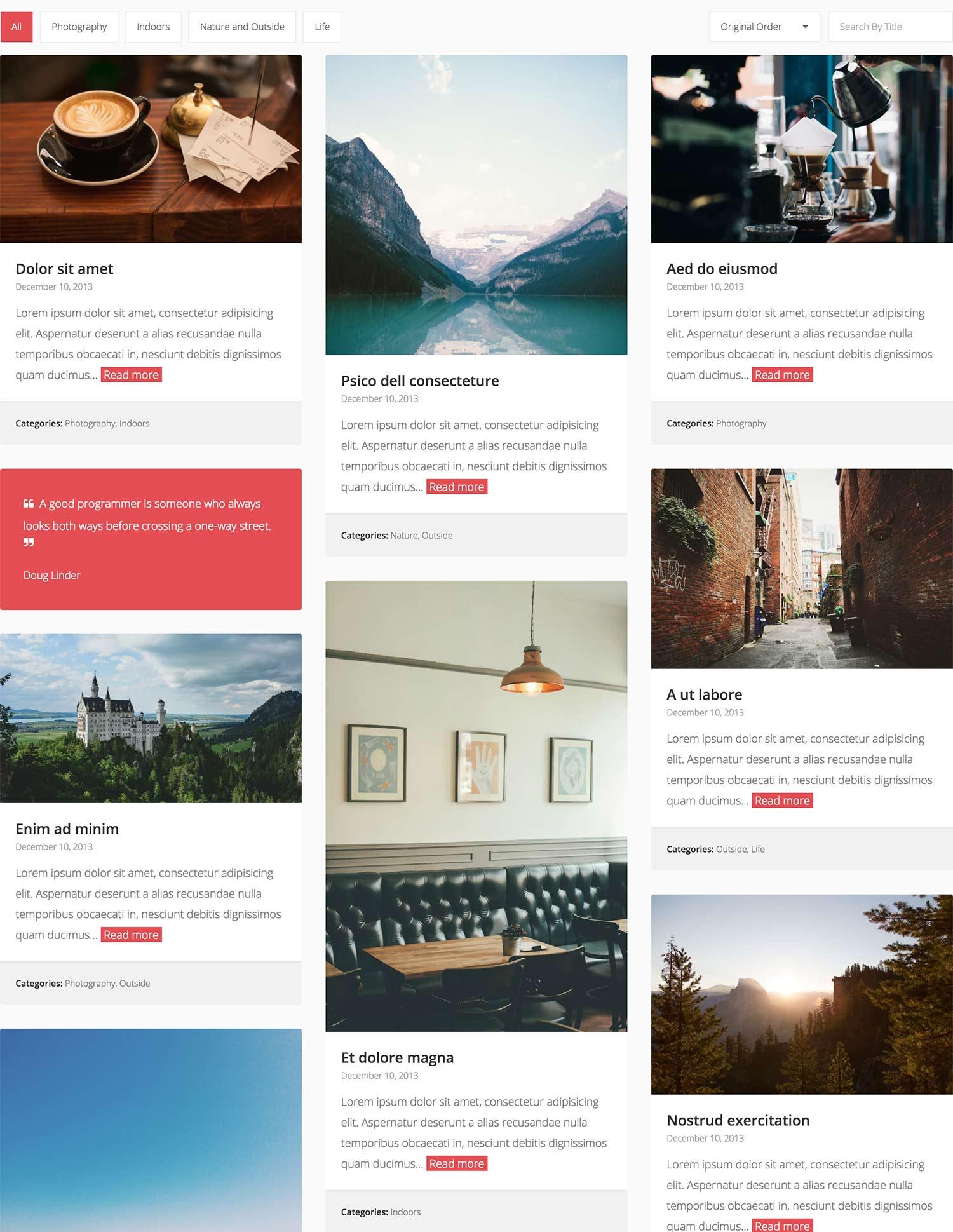 Responsive jQuery Grid Plugin | Media Boxes Portfolio