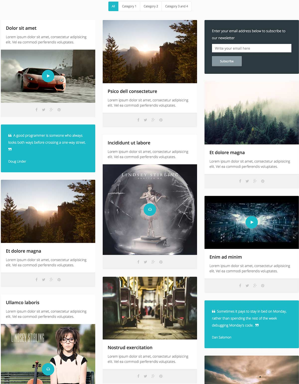 Responsive jQuery Grid Plugin | Media Boxes Portfolio